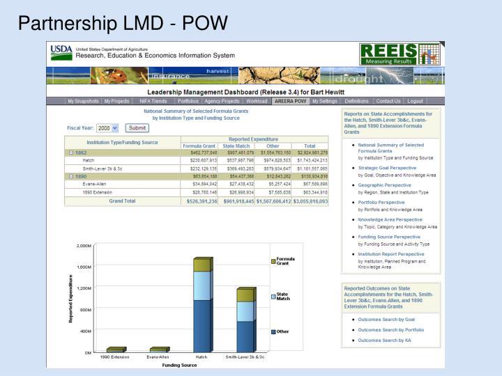 Partnership LMD - POW