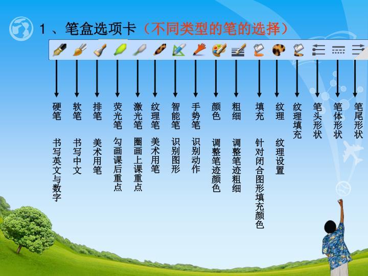 软笔       书写中文