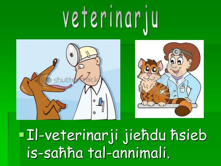 veterinarju