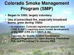 colorado smoke management program smp