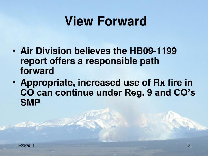 View Forward