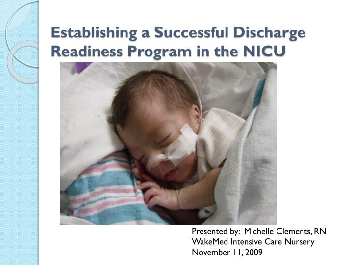 Establishing a Successful Discharge