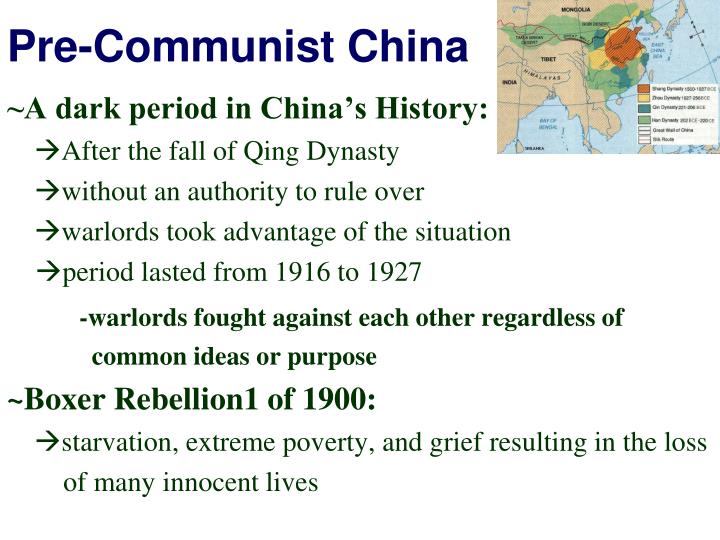 Pre-Communist China