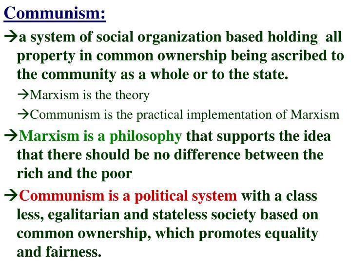 Communism: