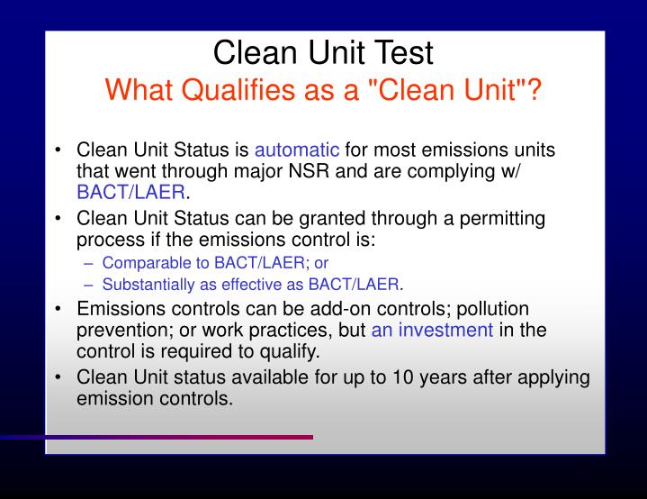 Clean Unit Test