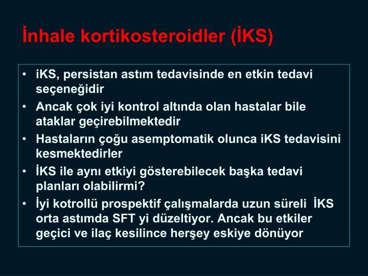 İnhale kortikosteroidler (İKS)