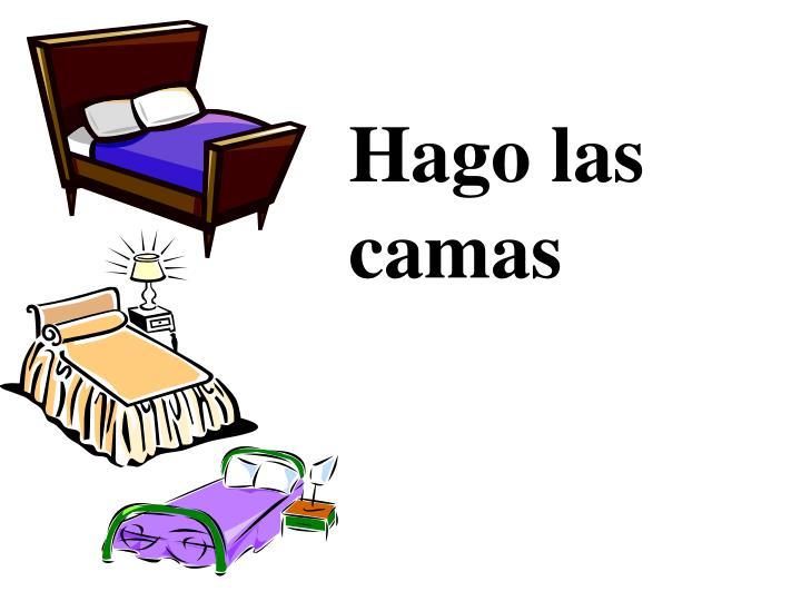 Hago las camas