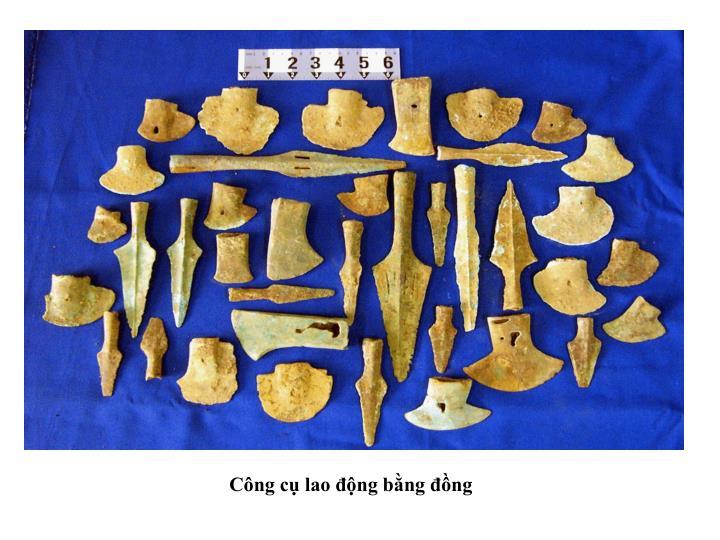 Công cụ lao động bằng đồng