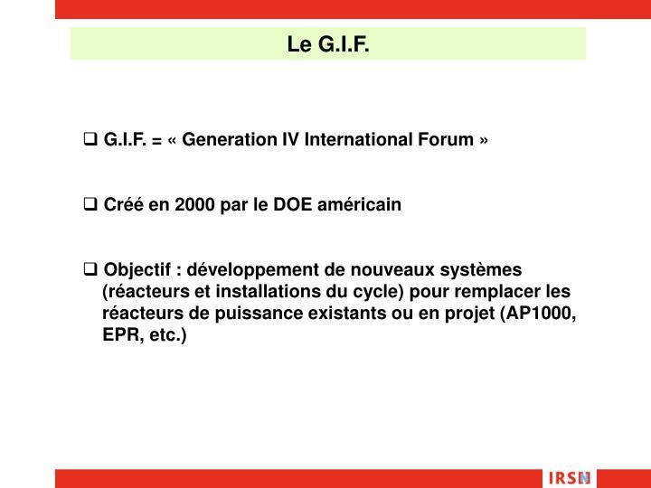 Le G.I.F.
