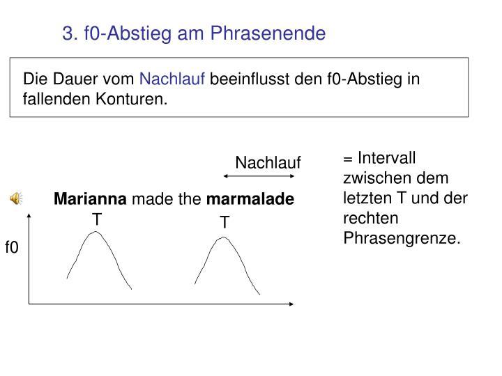 = Intervall zwischen dem letzten T und der rechten Phrasengrenze.