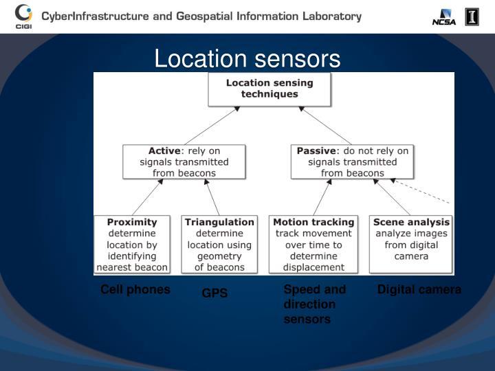 Location sensors