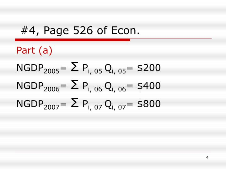 #4, Page 526 of Econ.