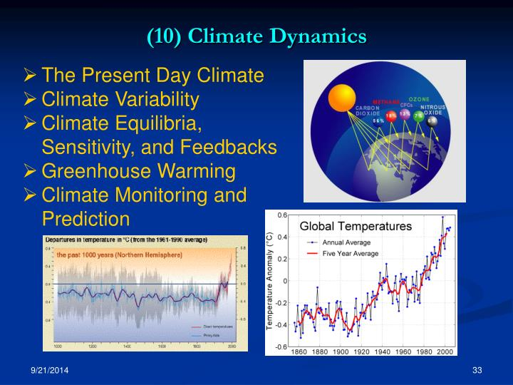 (10) Climate Dynamics