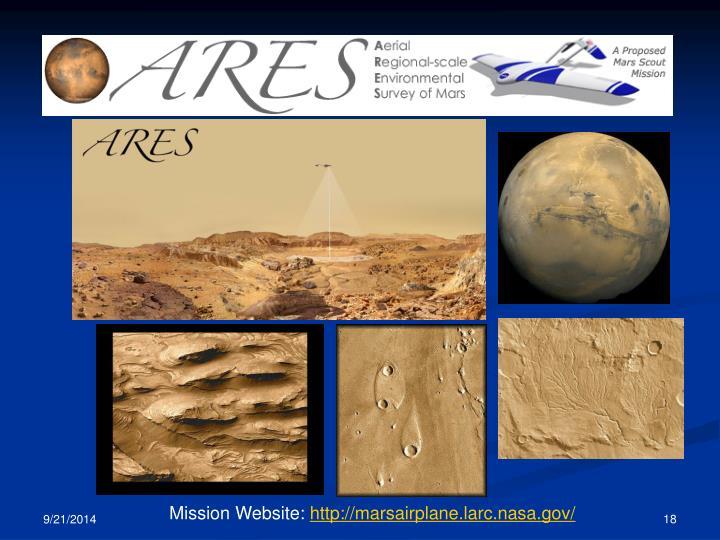 Mission Website: