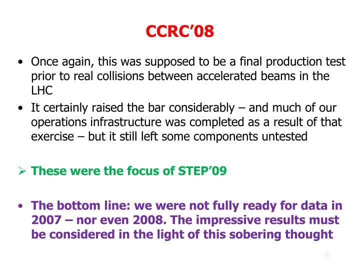 CCRC'08
