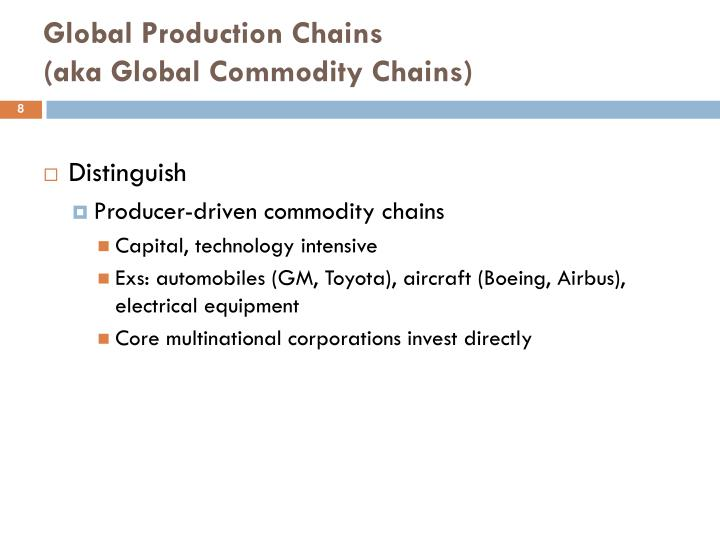 an analysis of the lead firms in the apparel commodity chain Value chain analysis and global health  changing (lead firms plus supply  chains) ▫ power in the chain  apparel: pre-nafta maquila networks in  torreón's.
