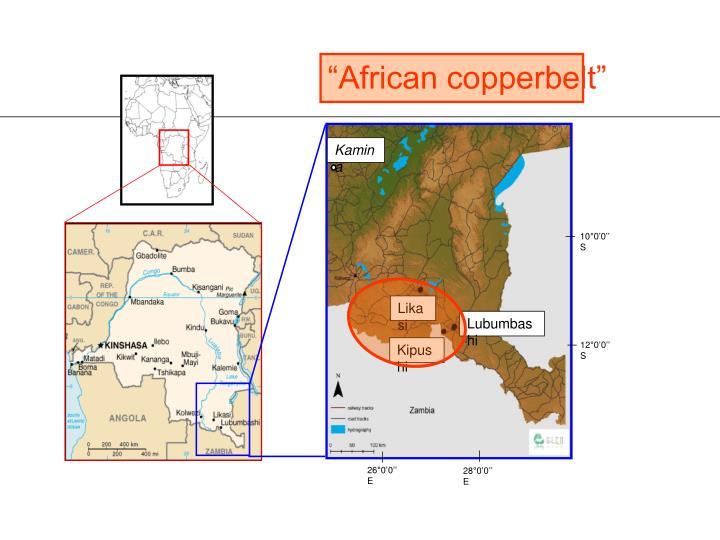 """African copperbelt"""