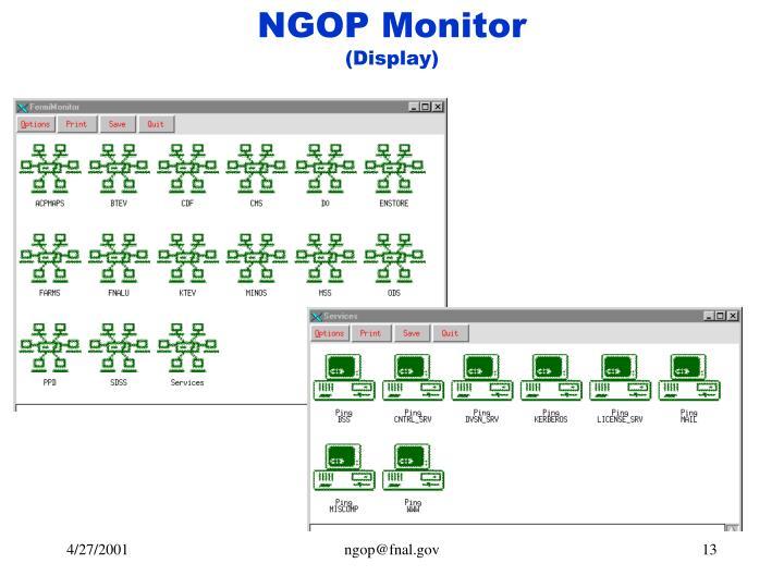 NGOP Monitor