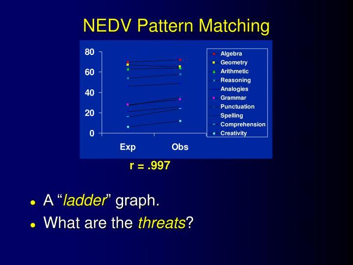 NEDV Pattern Matching