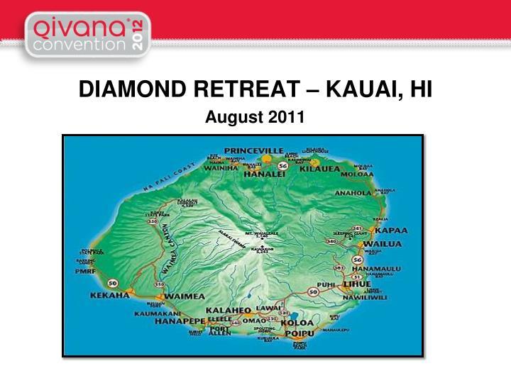 DIAMOND RETREAT – KAUAI, HI