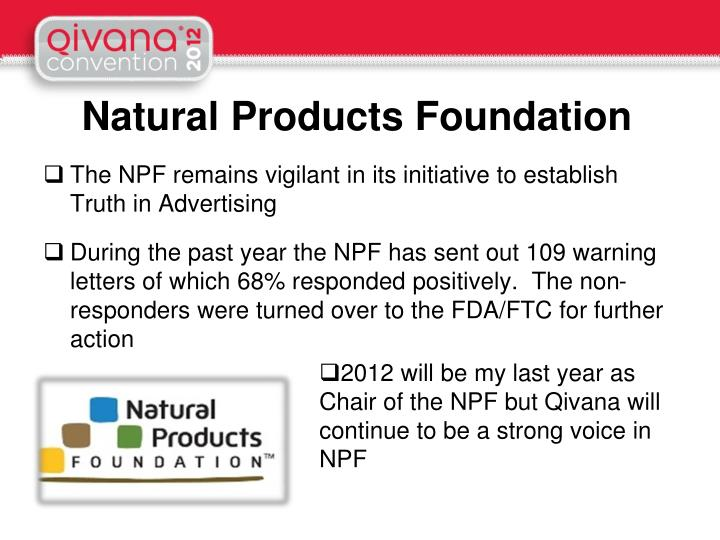 Natural Products Foundation