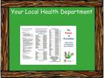 your local health department