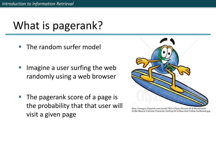 What is pagerank?