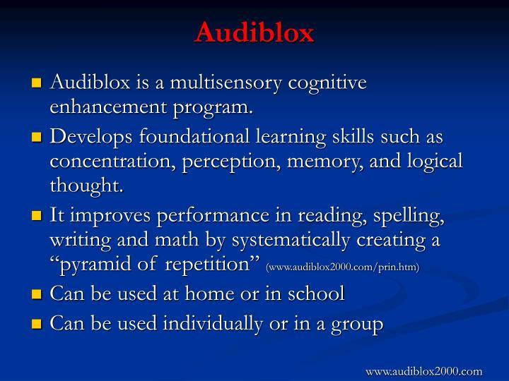Audiblox