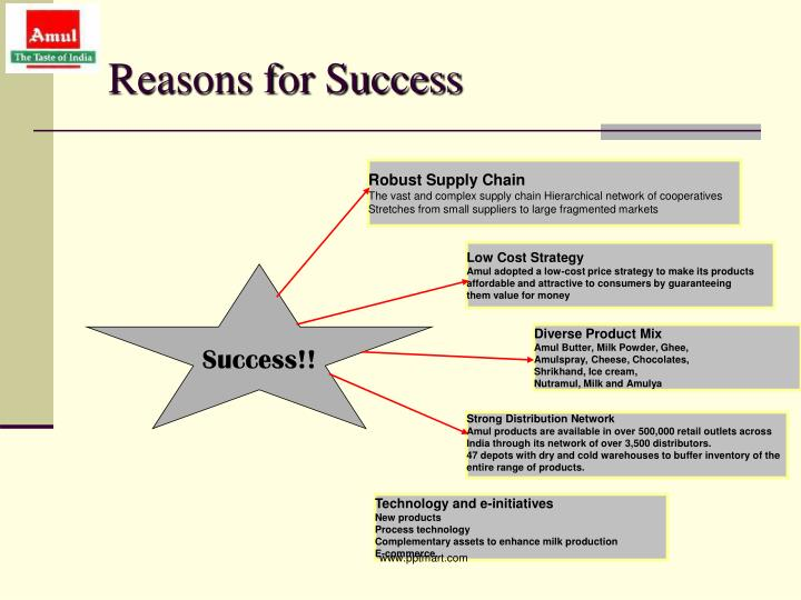 The reasons for the success of