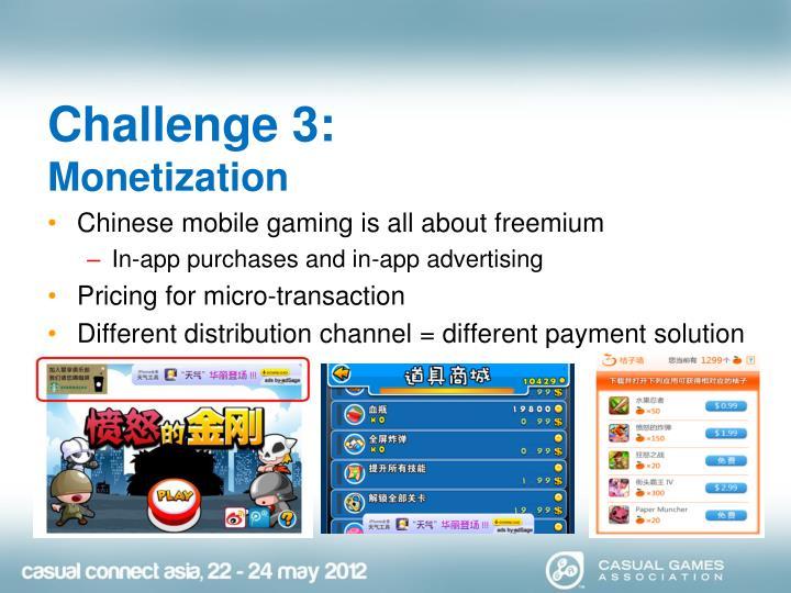 Challenge 3: