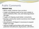 public comments4
