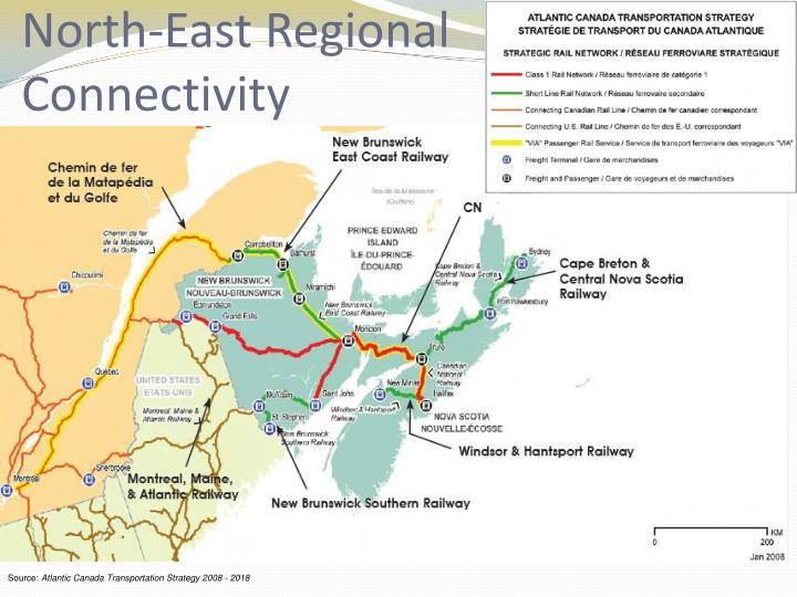 North-East Regional Connectivity