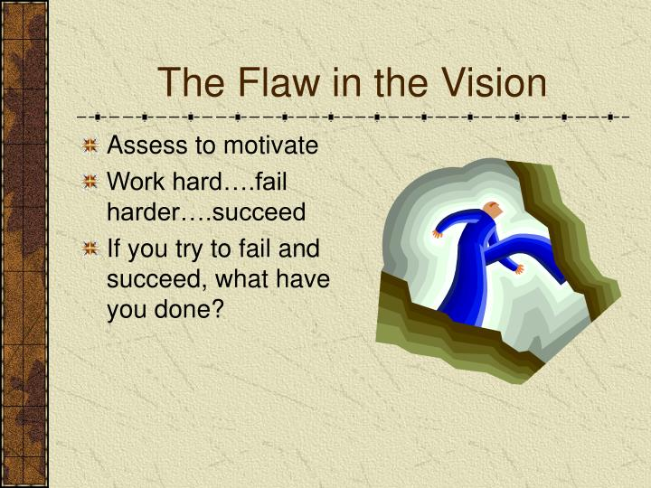 The Flaw in the Vision