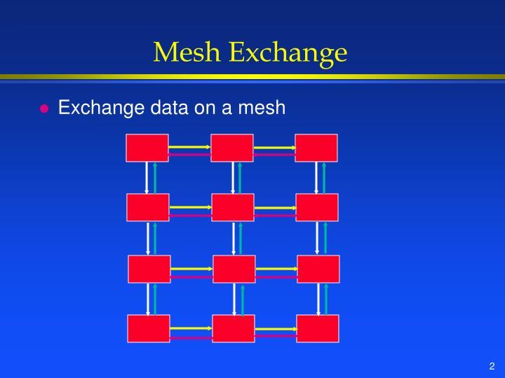 Mesh Exchange