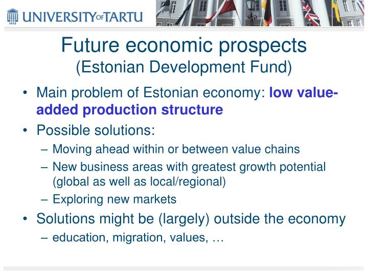 Future economic prospects