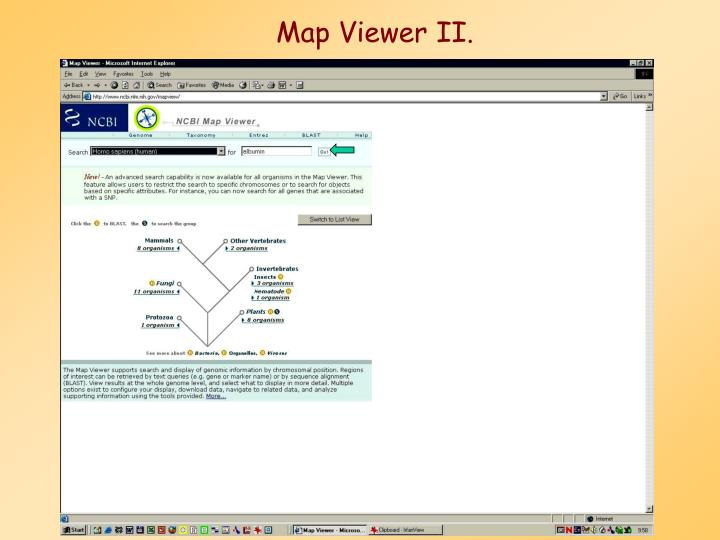 Map Viewer II.