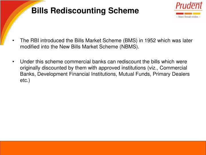 Bills Rediscounting Scheme