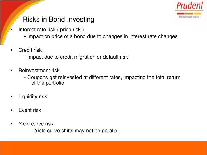 Risks in Bond Investing