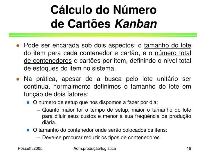 Cálculo do Número