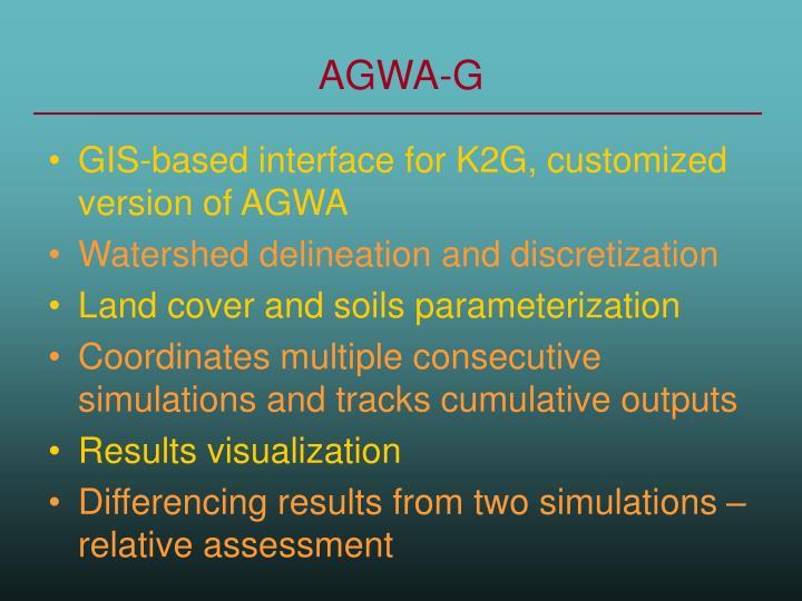 AGWA-G