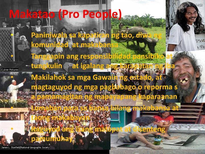 Makatao (Pro People)