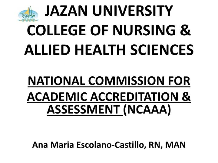 Jazan university college of nursing allied health sciences