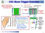csc muon trigger overview