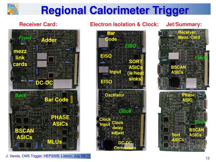 Regional Calorimeter Trigger