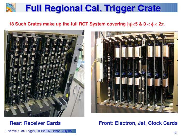 Full Regional Cal. Trigger Crate