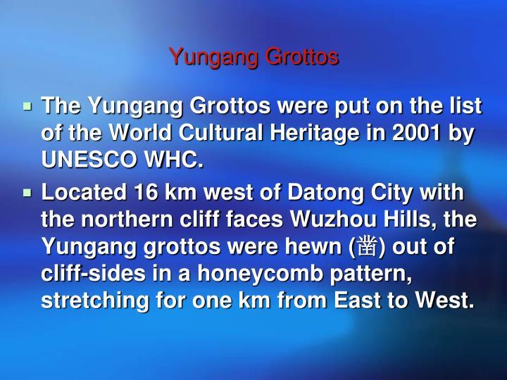Yungang Grottos