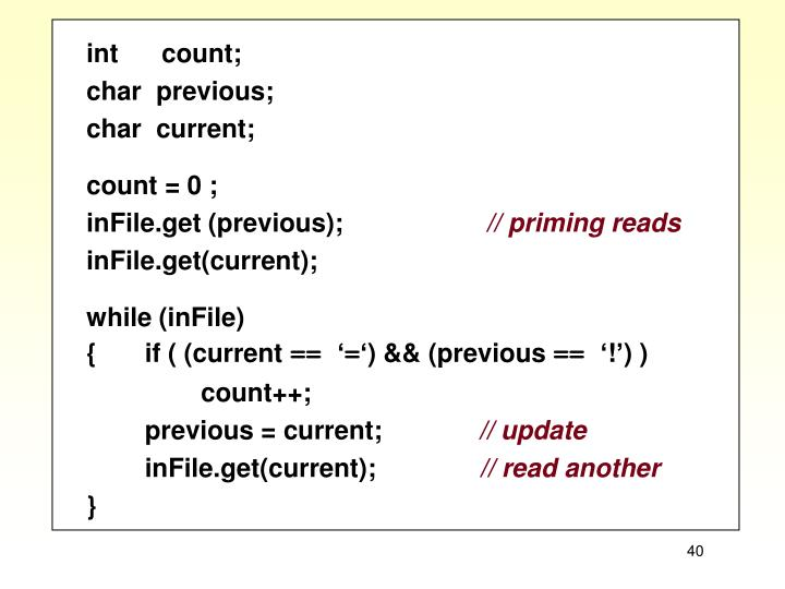 int      count;
