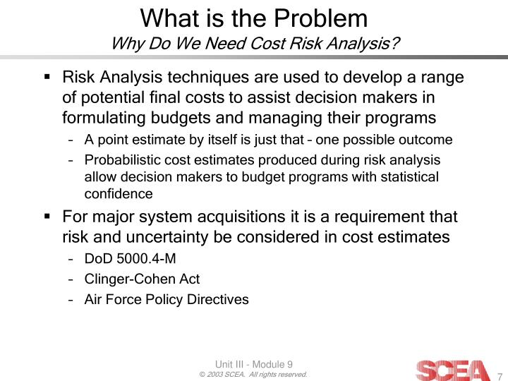 analyze the reason why cost need Analyze the reasons why costs need to be controlled to budget the important  responsibilities are to be able to control budgets and costs and.