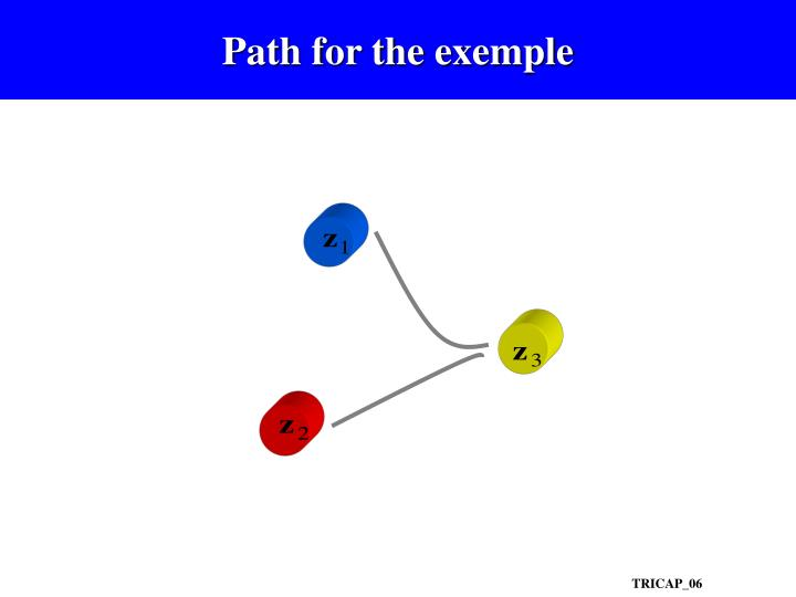 Path for the exemple