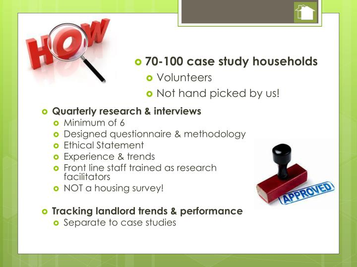 70-100 case study households